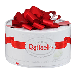 Подарки на 14 февраля - Набор конфет «торт Рафаэлло» 200 гр
