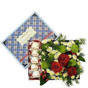 Сладкая жизнь +30% цветов с доставкой в Казани