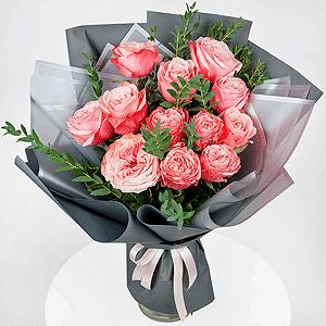 Бизнес-букет +30% цветов с доставкой в Казани